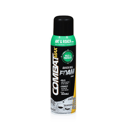 Combat® Max™ Ant and Roach Killer Quick Kill Foam Spray
