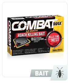 Combat Max® 12 Months for Small Roaches